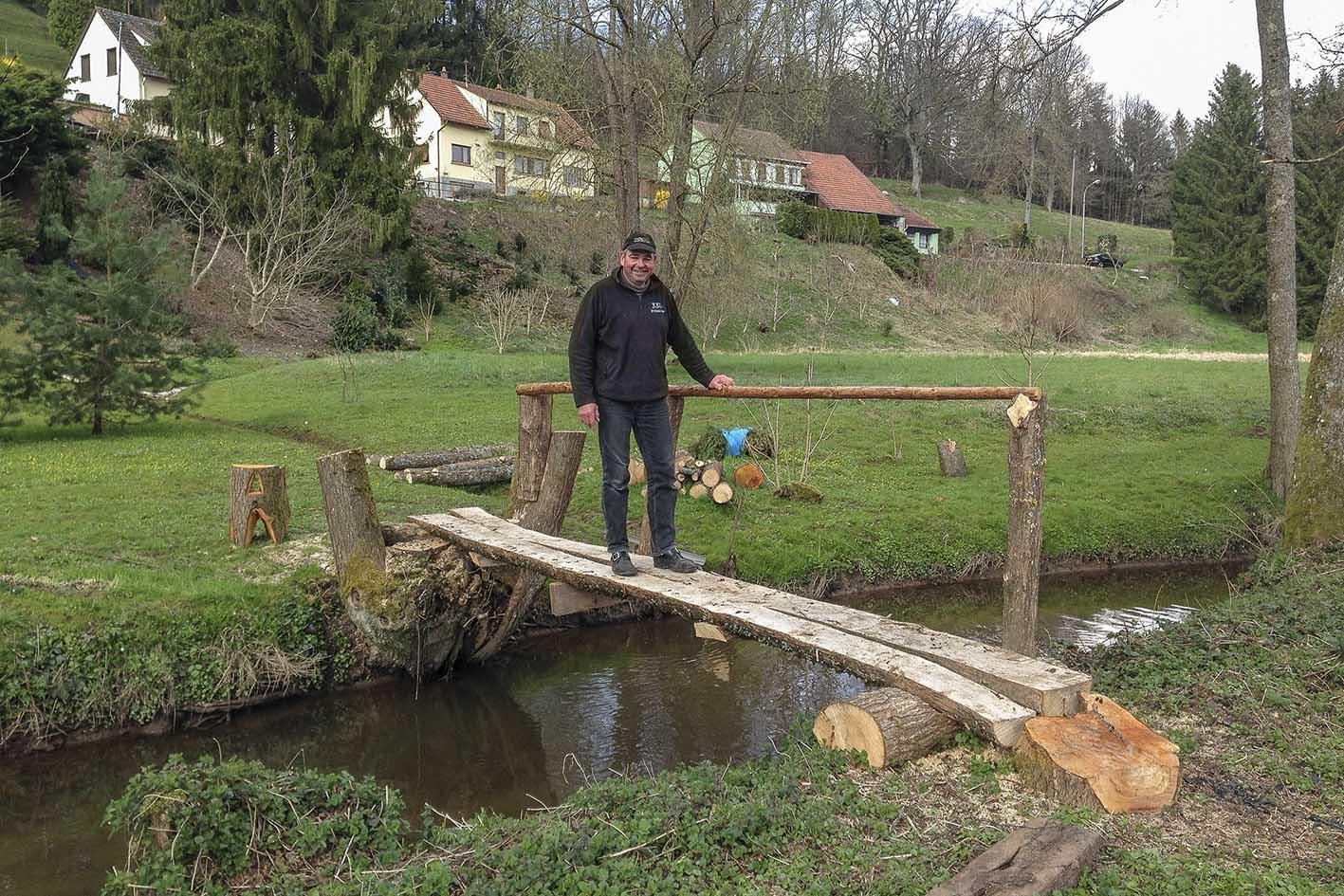 Comment Fabriquer Un Petit Pont En Bois tieffenbach - actualité